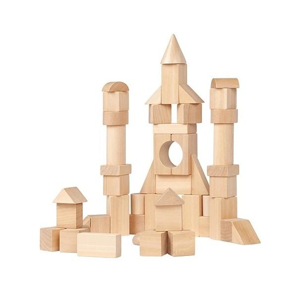 50 cubes naturels kubix janod ekobutiks l ma boutique cologique jouets janod l jouets en for Jeu construction bois