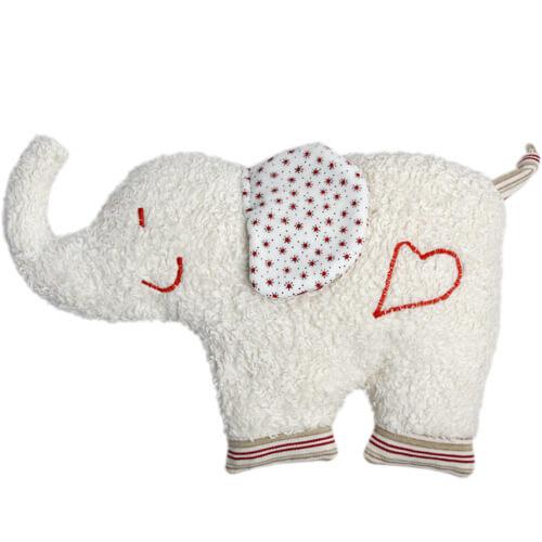 Doudou Bouillotte Efie Elephant