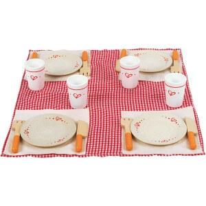 Jouet Hape - Dinette Picnic set dejeuner