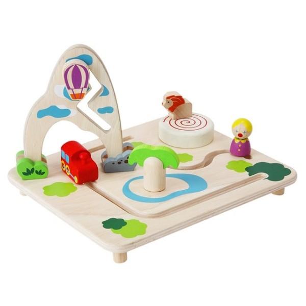 jouet ballade dans le parc plantoys ekobutiks l ma boutique cologique jouets en bois. Black Bedroom Furniture Sets. Home Design Ideas