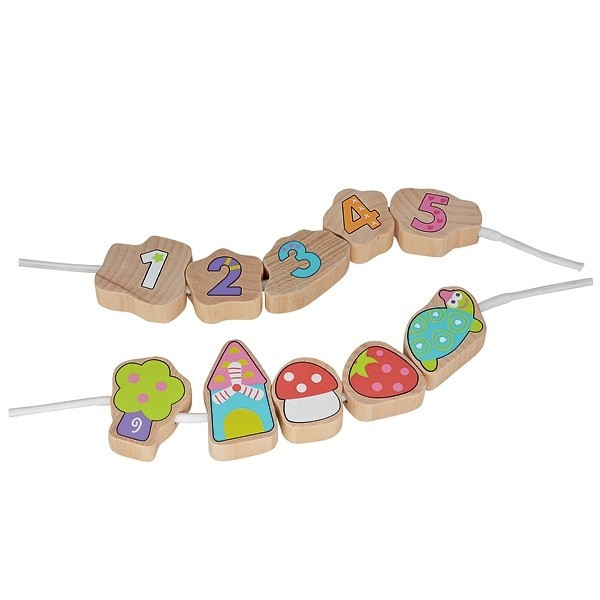 Jouet en bois jeu de perle enfiler 39 jardin 39 ekobutiks for Maison de jardin en bois jouet