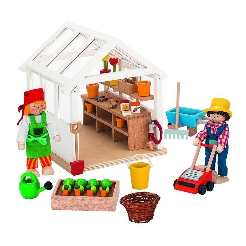 Maison De Poupée La Serre Du Jardinier Goki Ekobutiks L Ma