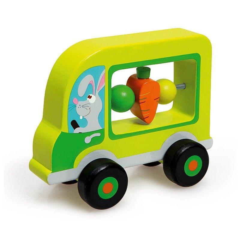 Ma première Voiture Verte Lapin Scratch - Ekobutiks® l ma boutique ...