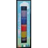 Peinture Enfant Pigments naturels Color Rare® Bambino Tour 6 couleurs écologiques (VRBVOM) - Peinture naturelle