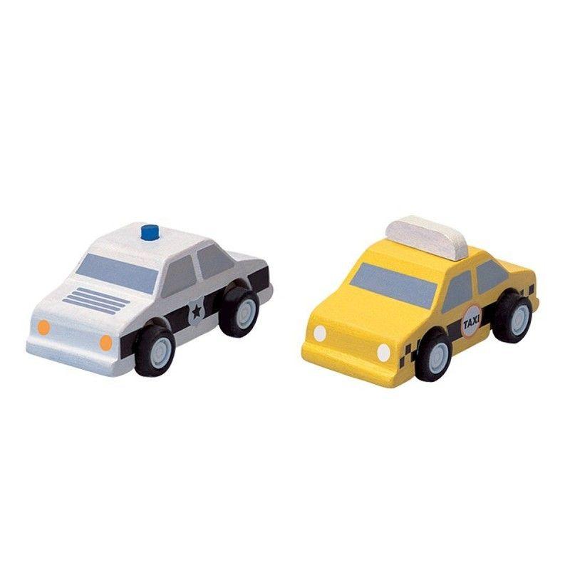 Bois En Cab Petites Policeamp; Plantoys® Voitures Plancity Jouet Yellow qMpzUVS