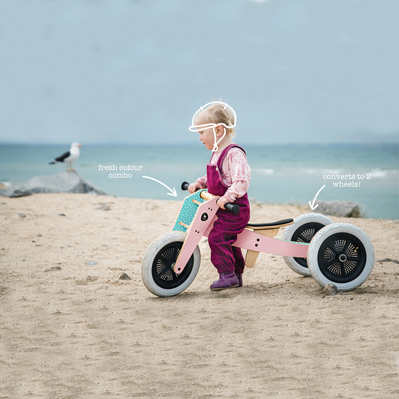 Wishbone Bike draisienne en bois - Tricycle