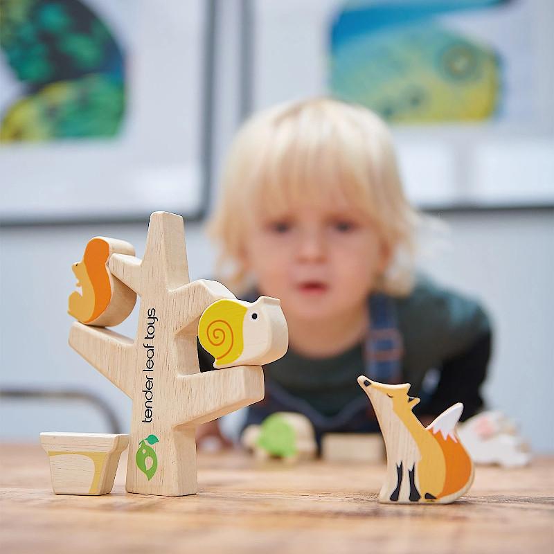 Les jouets en bois de bambou