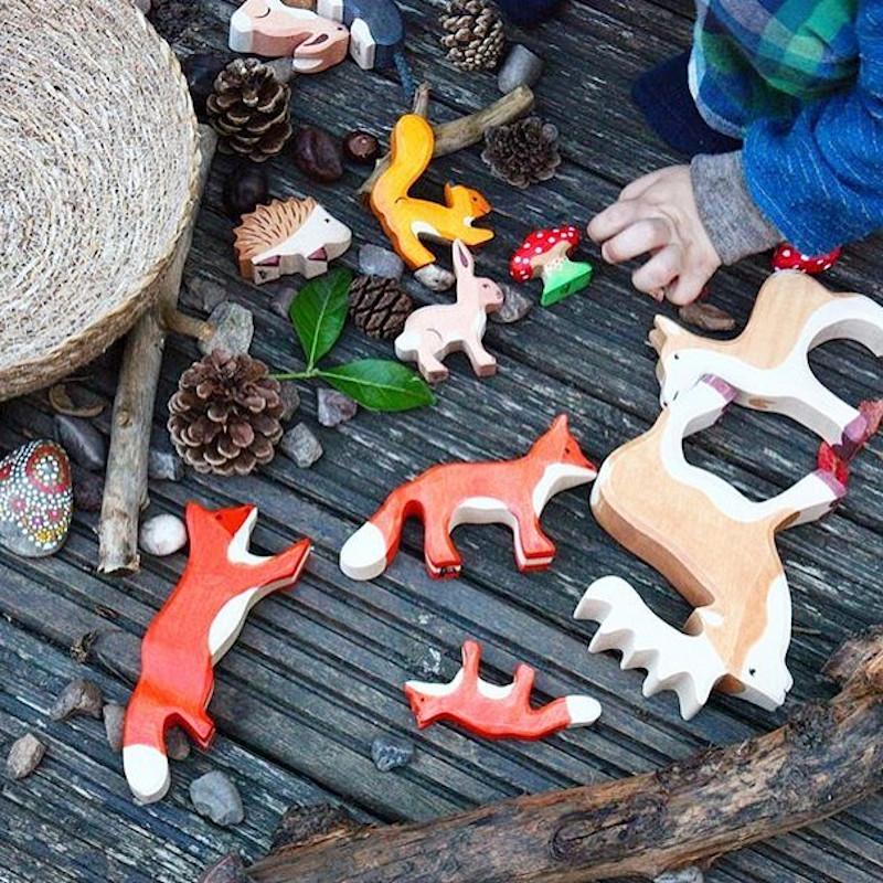 Les figurines en bois Holztiger®