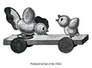 Histoire-jouet-sevi produit dansls années 1950