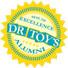 Label jouets educatifs Dr Toys Alumni