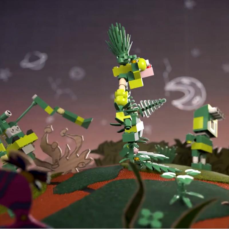 Lego jouet bio plastic