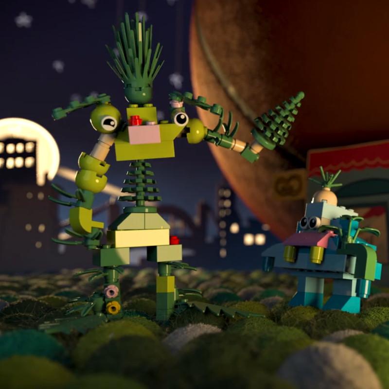 Jouets Lego Bio plastic