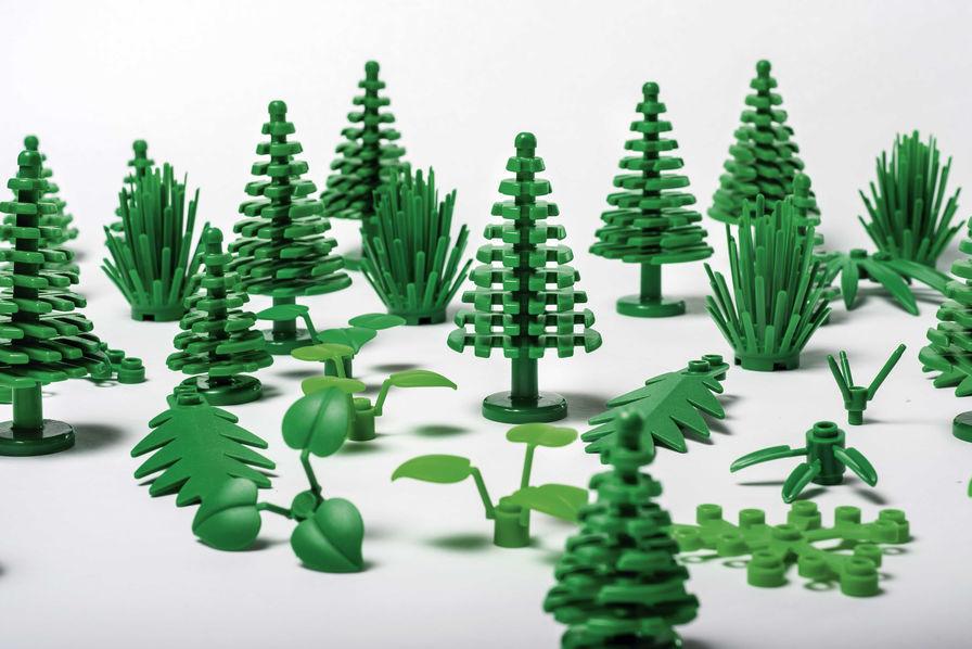 Lego & le plastic végétal