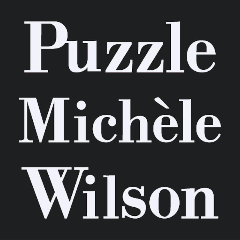 Puzzle en bois Michèle Wilson®